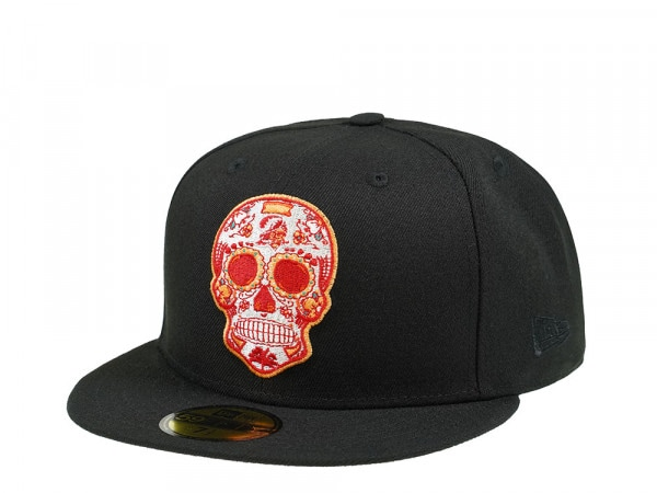 New Era Tampa Bay Buccaneers Skull Edition 59Fifty Fitted Cap