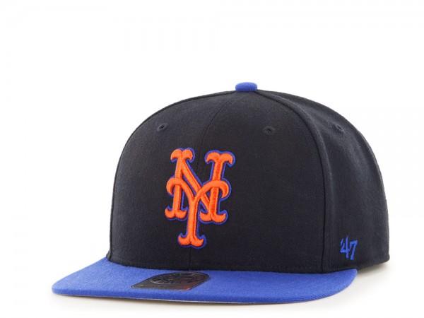 47Brand New York Mets Sure Shot Captain Two Tone Snapback Cap