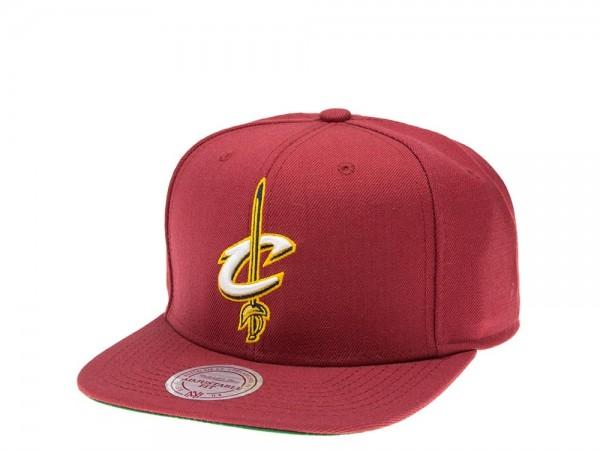 Mitchell & Ness Cleveland Cavaliers Classic Snapback Cap
