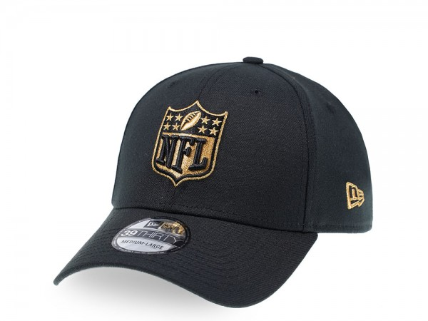 New Era NFL Logo Gold Edition 39Thirty Stretch Cap