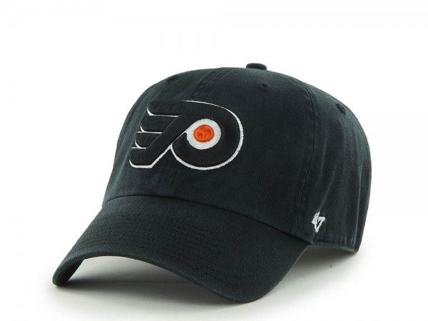 47brand Philadelphia Flyers Clean up Strapback Cap