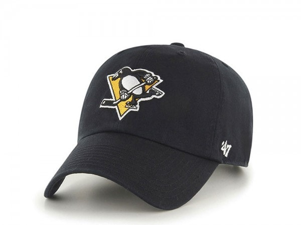 47brand Pittsburgh Penguins Clean up Strapback Cap