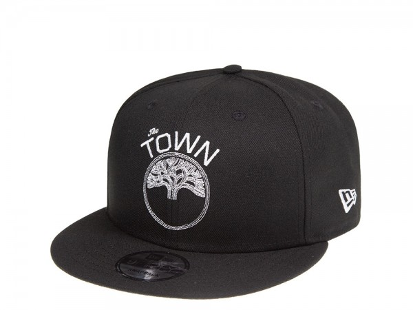 New Era Golden State Warriors The Town 9Fifty Snapback Cap