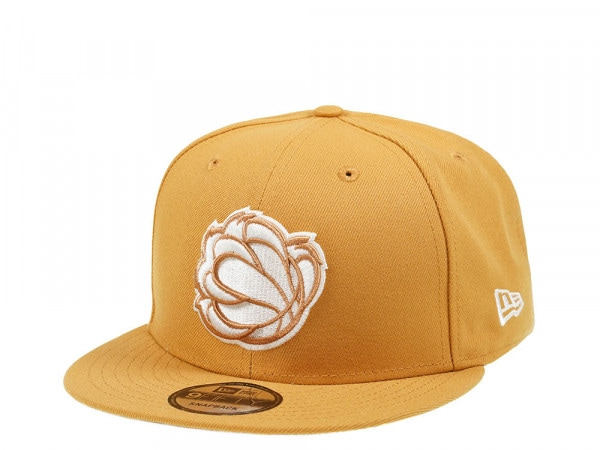 New Era Memphis Grizzlies Panama Tan Edition 9Fifty Snapback Cap