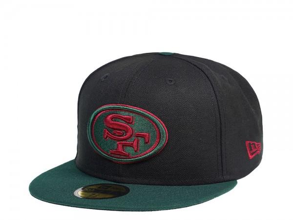New Era San Francisco 49ers Dark Green 59Fifty Fitted Cap
