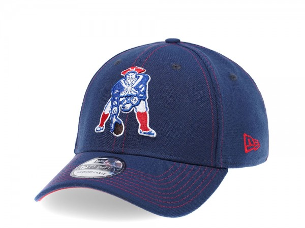 New Era New England Patriots Curved Patriot Edition 39Thirty Stretch Cap