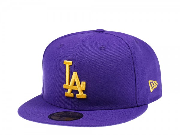 New Era Los Angeles Dodgers All Purple Edition 59Fifty Fitted Cap