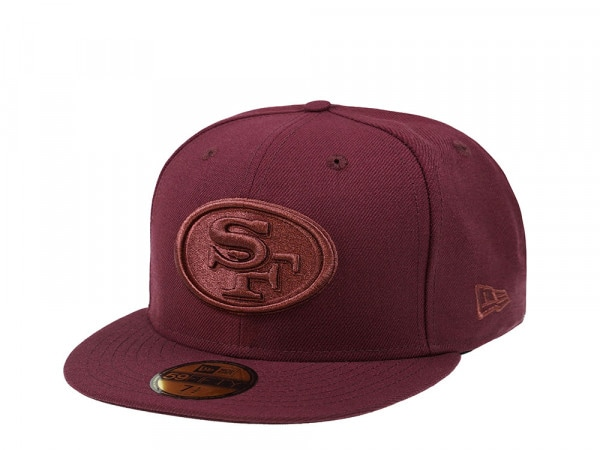 New Era San Francisco 49ers Maroon Edition 59Fifty Fitted Cap