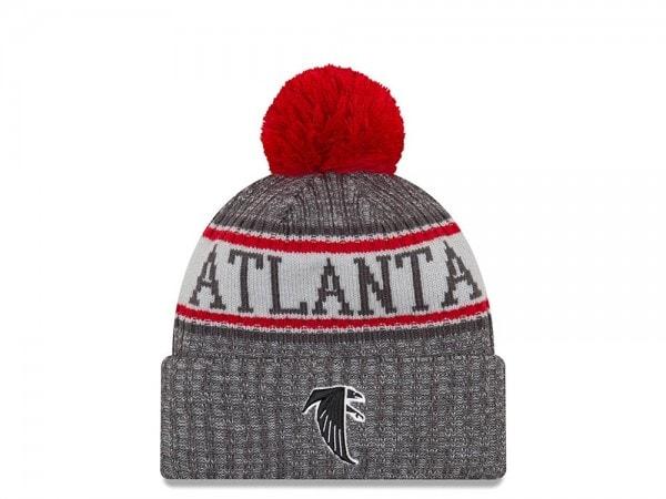 New Era Atlanta Falcons Historic Graphite Sideline 2018 Mütze