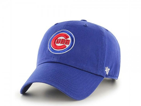 47Brand Chicago Cubs Classic Clean Up Strapback Cap
