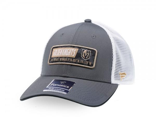 Fanatics Las Vegas Golden Knights Gray Iconic Trucker Snapback Cap