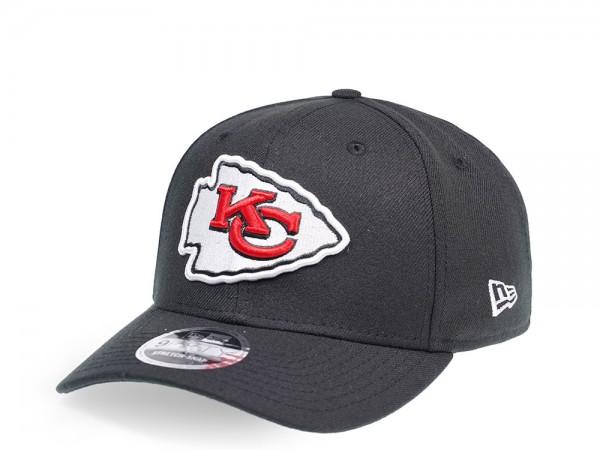 New Era Kansas City Chiefs Black Edition 9Fifty Stretch Snapback Cap