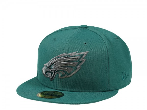 New Era Philadelphia Eagles Jersey Color Edition 59Fifty Fitted Cap