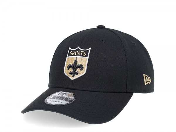 New Era New Orleans Saints Curved Black Edition 9Forty Snapback Cap