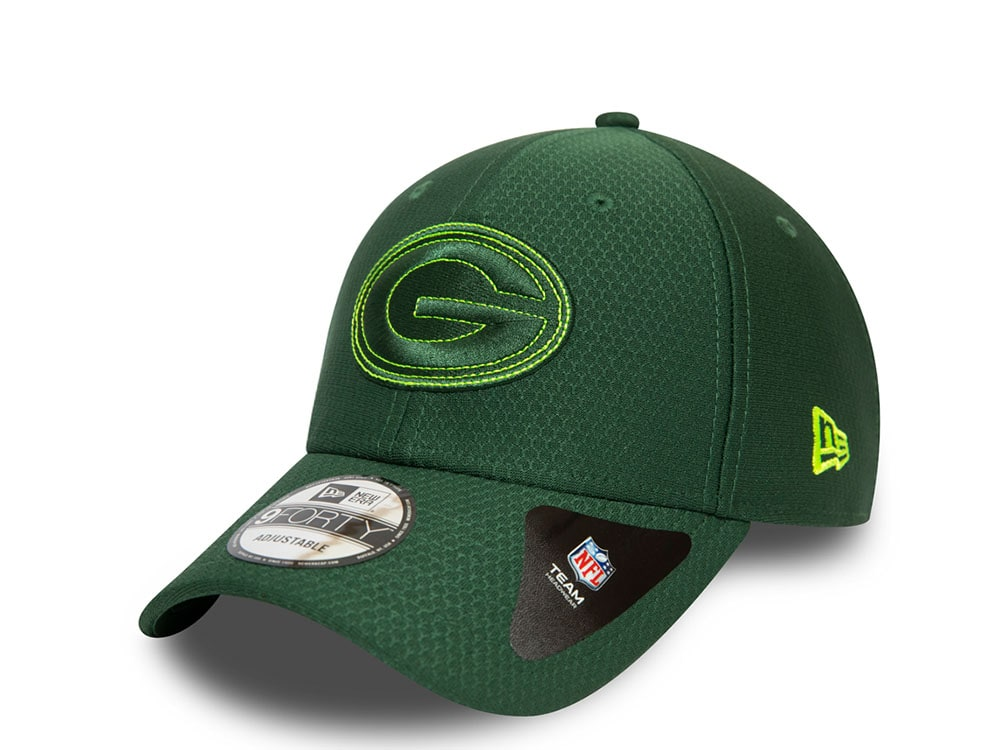 New Era Wintermütze Beanie HEATHER Green Bay Packers