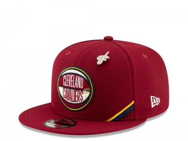 New Era Cleveland Cavaliers Draft 19 9Fifty Snapback Cap
