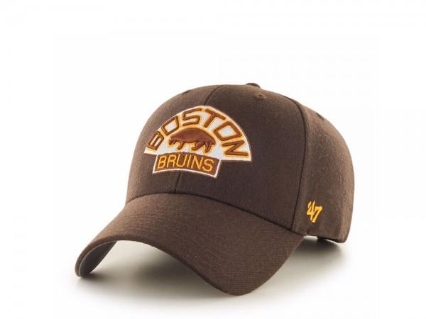 47Brand Boston Bruins Vintage MVP Strapback Cap