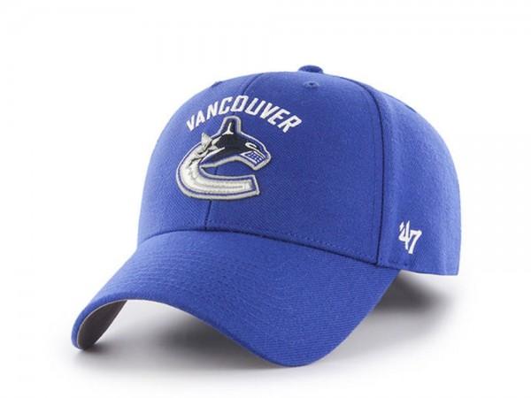 47brand Vancouver Canucks MVP Strapback Cap