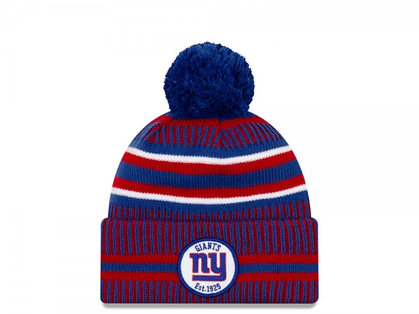 New Era New York Giants Sideline 2019 Home Mütze