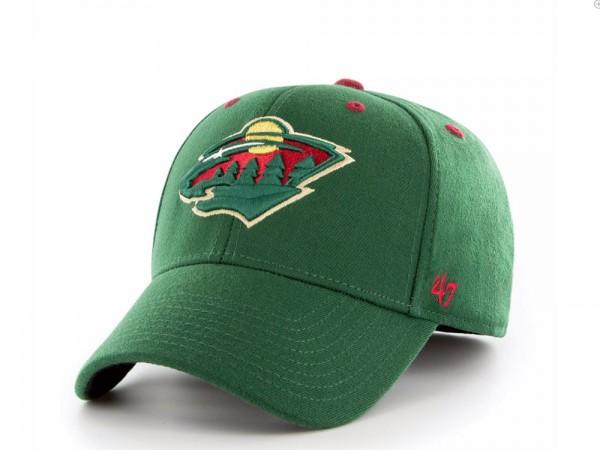 47Brand Minnesota Wild Stretch Fit Contender Cap