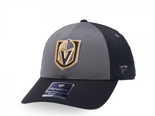 Fanatics Las Vegas Golden Knights Gray Iconic Stretch Fit Cap