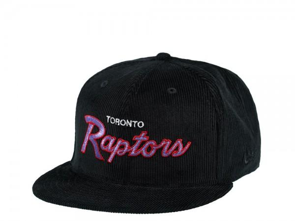 New Era Toronto Raptors Cord Script Edition 9Fifty Snapback Cap