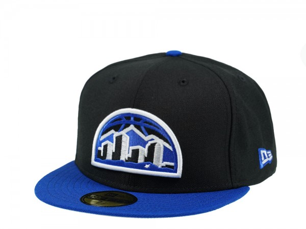 New Era Denver Nuggets Skyline Blue 59Fifty Fitted Cap
