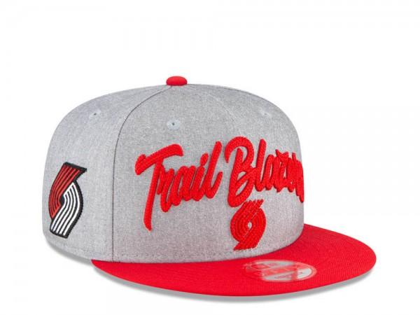 New Era Portland Trail Blazers NBA Draft 20 9Fifty Snapback Cap