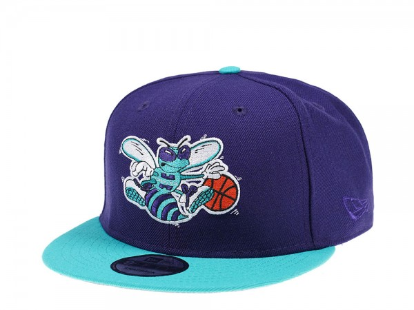 New Era Charlotte Hornets Throwback 9Fifty Snapback Cap