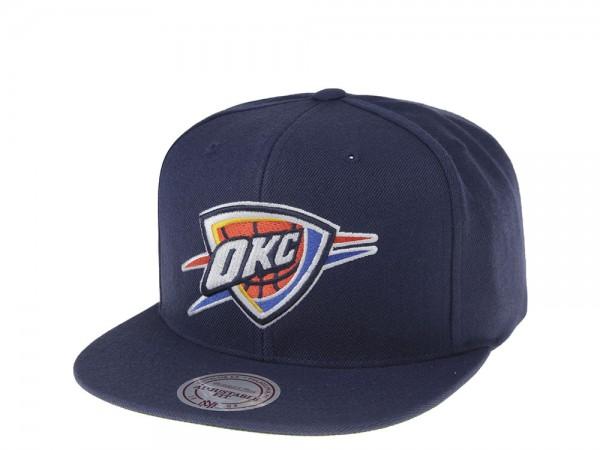 Mitchell & Ness Oklahoma City Thunder Wool Solid Snapback Cap