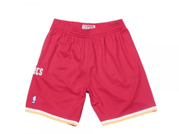 Mitchell & Ness Houston Rockets Swingman Shorts Rot