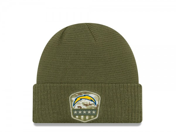 New Era Los Angeles Chargers Salute to Service 2019 Mütze