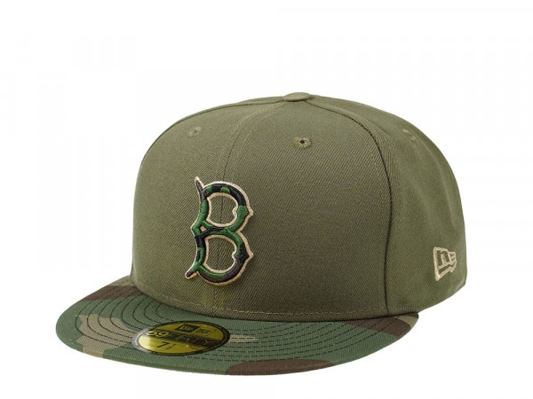 New Era Brooklyn Dodgers Camo Edition 59Fifty Fitted Cap