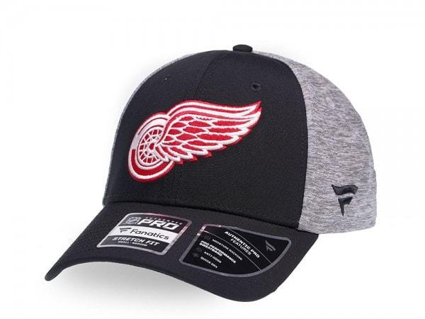 Fanatics Detroit Red Wings Locker Room Stretch Fit Cap