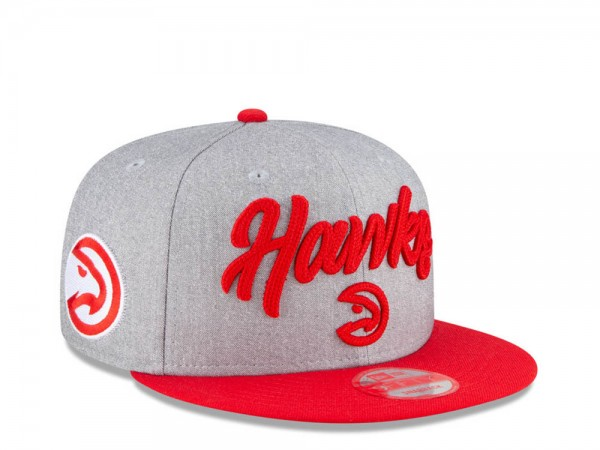 New Era Atlanta Hawks NBA Draft 20 9Fifty Snapback Cap