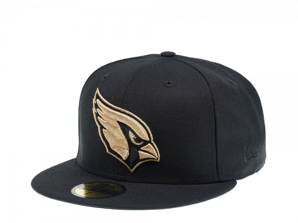 New Era Arizona Cardinals Black and Gold Edition 59Fifty Fitted Cap