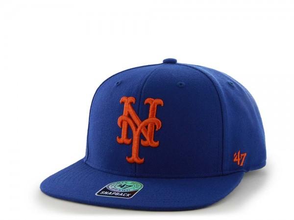 47Brand New York Mets Sure Shot Captain Snapback Cap