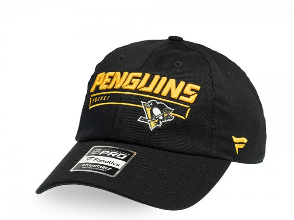 Fanatics Pittsburgh Penguins Authentic Pro Rinkside Adjustable Strapback Cap