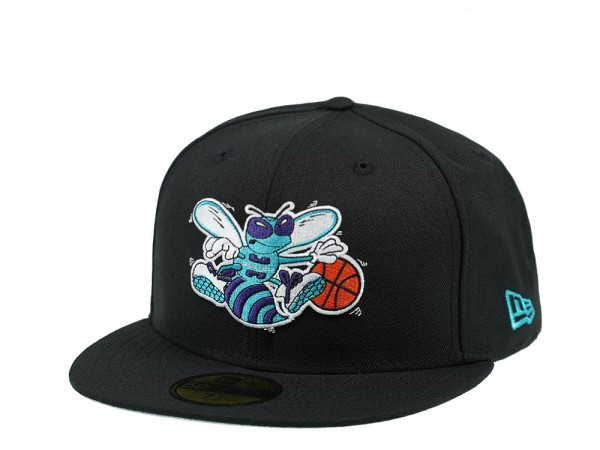 New Era Charlotte Hornets Black Edition 59Fifty Fitted Cap