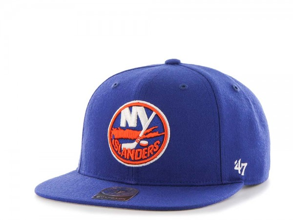 47Brand New York Islanders Sure Shot Captain Snapback Cap