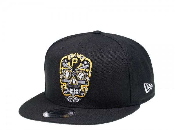 New Era Pittsburgh Pirates Skull Edition 9Fifty Snapback Cap