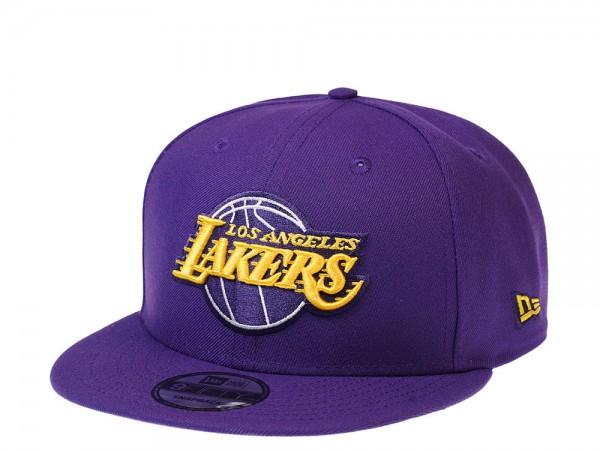 New Era Los Angeles Lakers Dark Purple Edition 9Fifty Snapback Cap