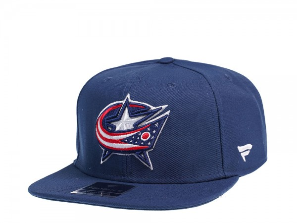 Fanatics Columbus Blue Jackets Core Snapback Cap