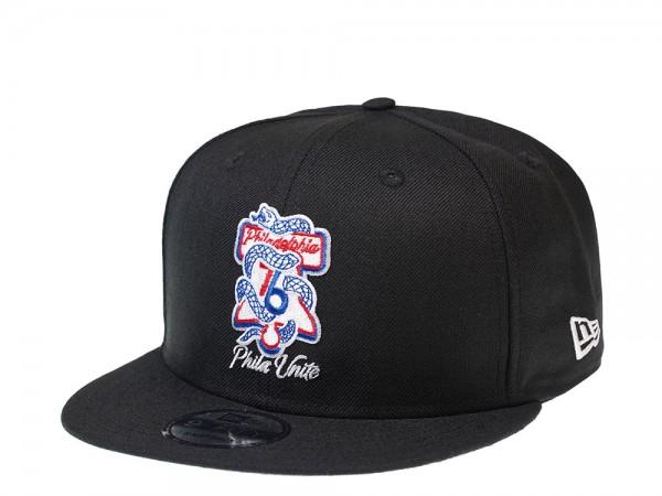New Era Philadelphia 76ers Bell Edition 9Fifty Snapback Cap