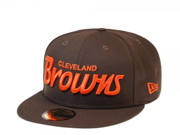 New Era Cleveland Browns All About Brown Edition 59Fifty Fitted Cap