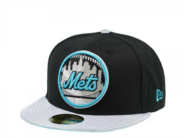 New Era New York Mets Blue and Silver Edition 59Fifty Fitted Cap