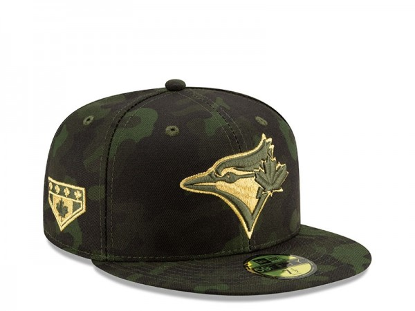 New Era Toronto Blue Jays Armed Forces Day On Field Fitted 59Fifty Cap
