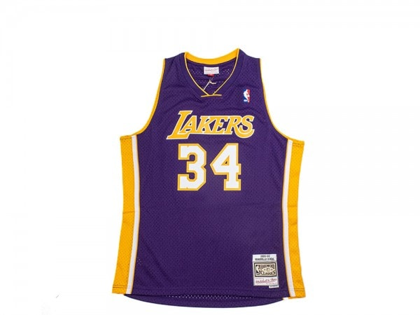 Mitchell & Ness Los Angeles Lakers - Shaquille O'Neal Purple Swingman Jersey 2.0 1999-2000