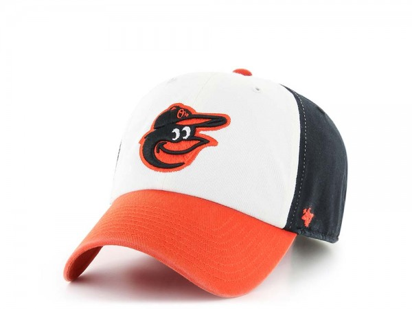 47Brand Baltimore Orioles Clean Up Strapback Cap