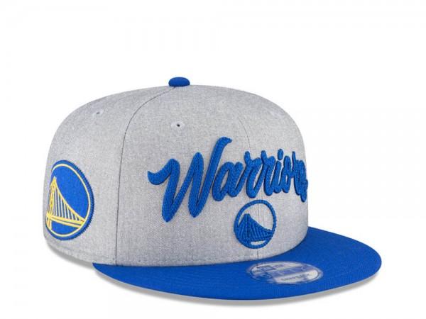 New Era Golden State Warriors NBA Draft 20 9Fifty Snapback Cap